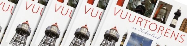 Boek 'Vuurtorens in Nederland'